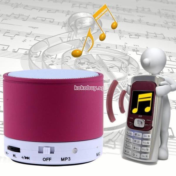 Bluetooth Hoparlör Bluetooth Kablosuz Mimi Taşınabilir Hoparlör Hoparlörler iPhone iPad MP3 Purplenew Için