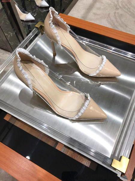 Neueste Classic Women High Heels Sandalen, zz49 Lackleder Spitze Damen Sandalen, Größe 35-39, Absatzhöhe 9 cm
