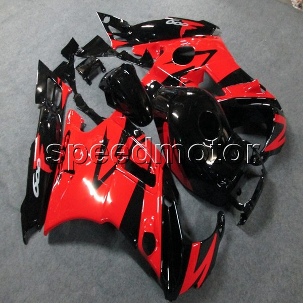 23colors+Screws red black motorcycle cowl Fairing for HONDA CBR600 F2 1991 1992 1993 1994 600F2 91 92 93 94 ABS motor panels