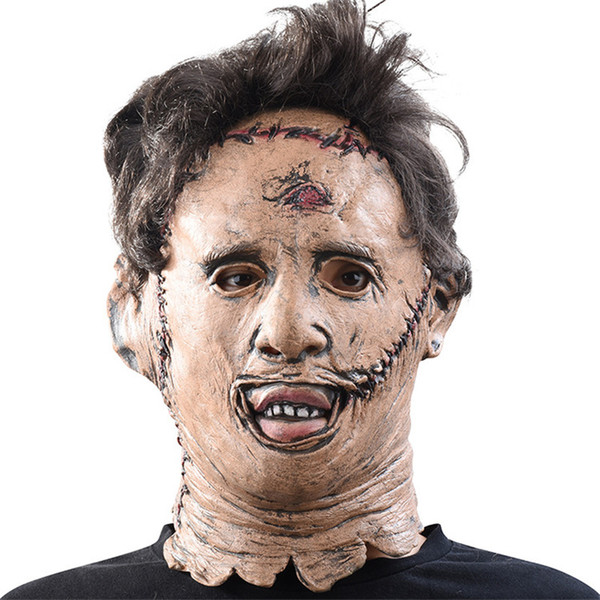 Texas Chainsaw Massacre Party Masks Halloween Scary Movie Star Costume Accessory Men Women Full Face Masks Scary Cosplay