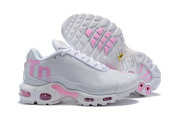 Womens Airing Pink White Running Shoes, 2019 Nuevo Descuento Barato TN Basketball Sports Running Shoes Tamaño 36-40