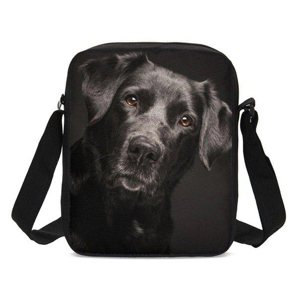Small Crossbody Bags For Boys Girls Animal Labrador Dog 3D Printing Sling Bags Shoulder Bag Handbags Messenger Bag Sac A Main
