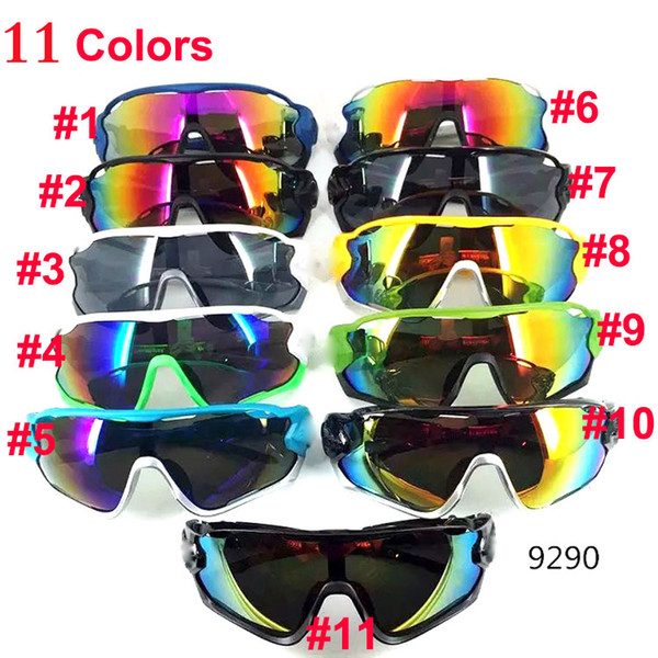 Brand New Cheap Sunglasses for Men and Women Outdoor Sport Sun Glass Eyewear Designer Sunglasses driving cycling sun glasses 11colors