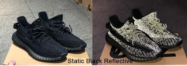 Reflexivo negro estático