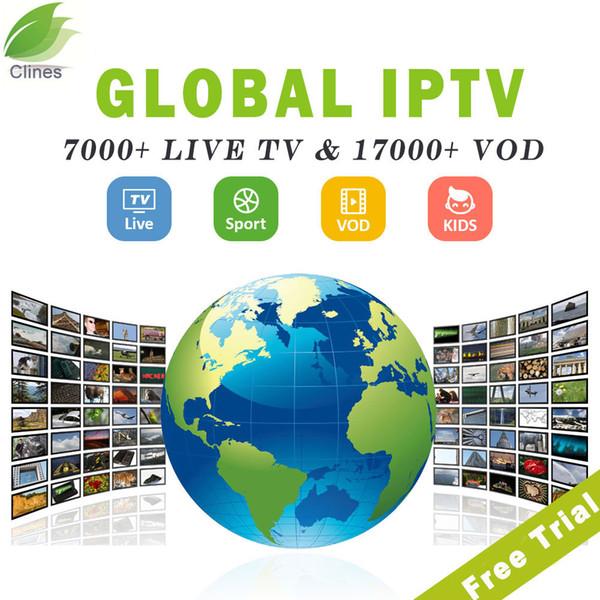 Serveur d'abonnement IPTV Europe pour le Royaume-Uni Espagne France Allemagne Italie avec iptv Server Live + canaux VOD Support M3U Android Enigma2 smart tv