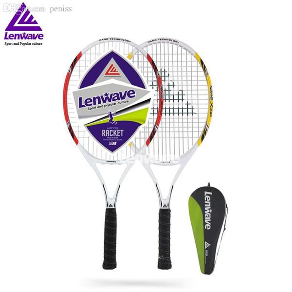 Grossiste-Lenwave Marque De Mode Raquette De Tennis En Aluminium En Fiber De Carbone Raquette De Tennis / 1 Pièce Raquette De Tennis K4241