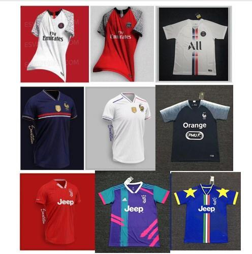 2019 2020 Ronaldo Dybala Souvenir Version Fußball Trikots 19 20 Inter Real Madrid Modric Ltd Fußball Trikot MBAPPE POGBA James Fooball Uniform