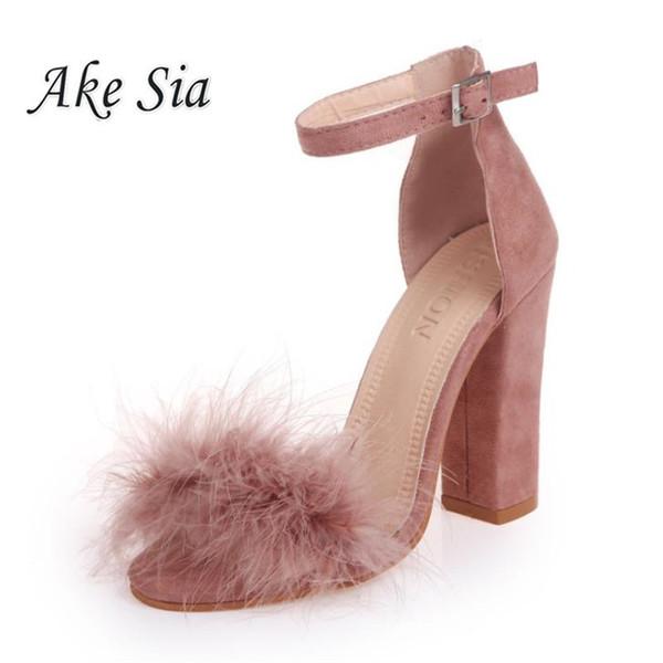 Altos Zapatos Compre Correa Tacones Del De Vestir Faux Tobillo 0dprdn