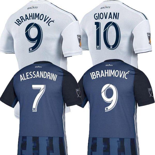 NEUE 19 20 IBRAHIMOVIC LA Galaxy Trikot Fußball Thailand Los Angeles Galaxy GIOVANI COLE ALESSANDRINI CORONA Fußballausrüstung Top Shirts 2019 2020