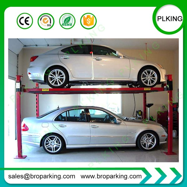 PLKING Parking Lift and 4 Post Car Elevator