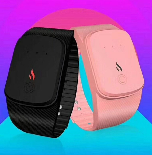 best selling Smart Warm Heating Bracelet Wearable Hand Warmer Portable USB Charging Explosion-proof Creative Warm Wristband