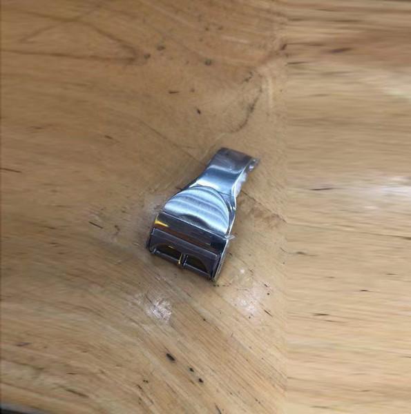 2019 de alta qualidade sólida dobrável fivela borboleta buckle18mm relógio fivela de fecho para o relógio de AÇO INOXIDÁVEL RELÓGIO BUCKLES CLASP