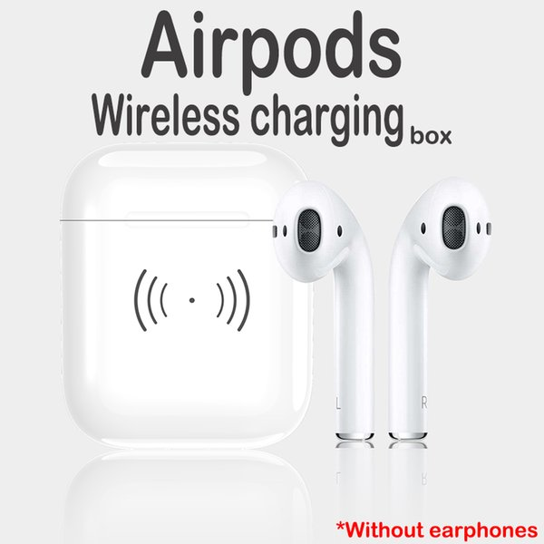 450mAh Wireless Charging Box for Airpods Mini Bluetooth Earphones Stereo Earbuds Headset Accessories With QI Smart Chip Top Quality