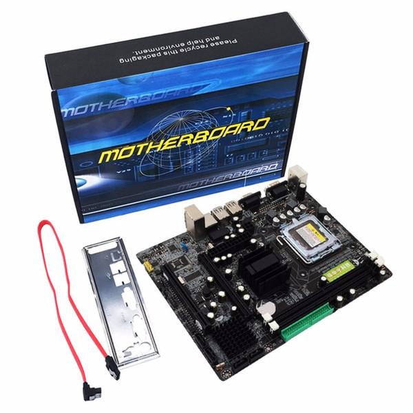 Professional 945 Motherboard 945GC + ICH-Chipsatz unterstützt LGA 775 FSB533 800 MHz SATA2-Ports Dual Channel DDR2-Speicher