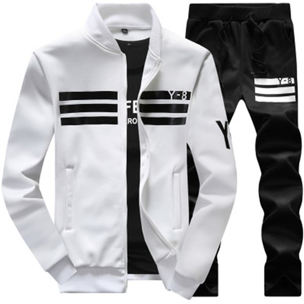 sportswear 2019 running winter autumn tracksuit man men sport brand tracksuits outwear set 2 pieces sportswear sweat suit men ny19.8-311