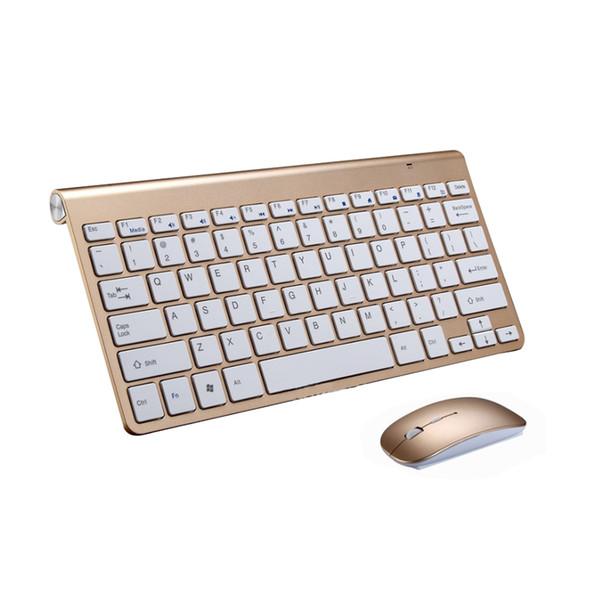 78 teclas inalámbricas Android Windows computadoras portátiles delgadas silenciosas X arquitectura teclado USB ultra delgado con computadoras de escritorio con mouse