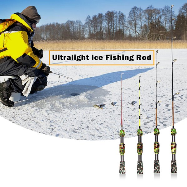 50 cm Hiver Glace Canne à Pêche Portable Outdoor canne à pêche sport Ultra-light