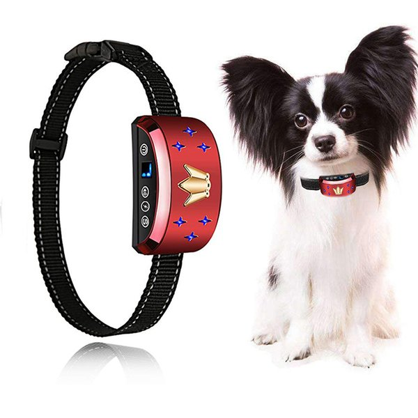 Stop Dogs Excessive Barking Device with Dog Training Collar!SAFE HARMLESS & HUMANE Anti-Bark Training with Sound & Vibration