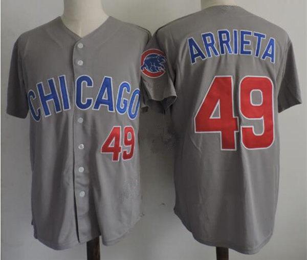 # 49 Arrieta Jake Grey Chicago Cool Base