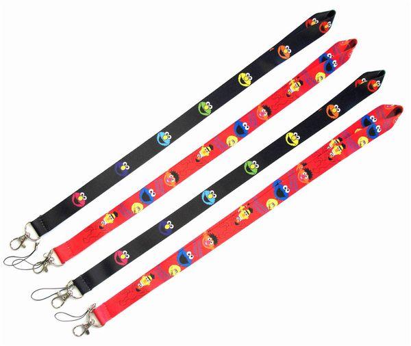 Sesame Street CellPhone Lanyard key chain Neck Strap Keys Camera ID Card Necklace String E-Cigarette Neck Strap