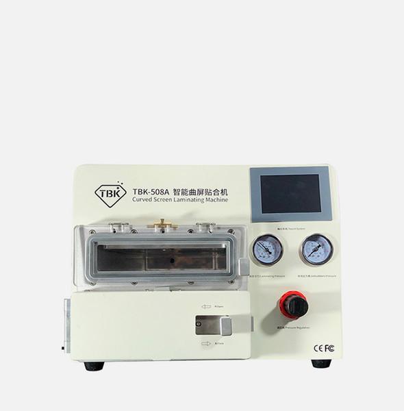 2019 aggiornato TBK-508A 5 in 1 macchina di laminazione OCA vuoto con stampi di allineamento per schermo LCD curvo per iphone