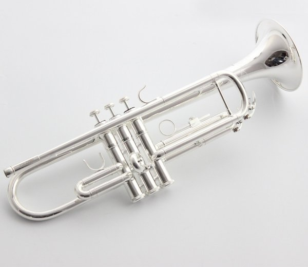 New Japan Bb Trumpet 2330S Silver Plated Music Instruments Profesional Trumpets Student Included Case Mouthpiece Accessories