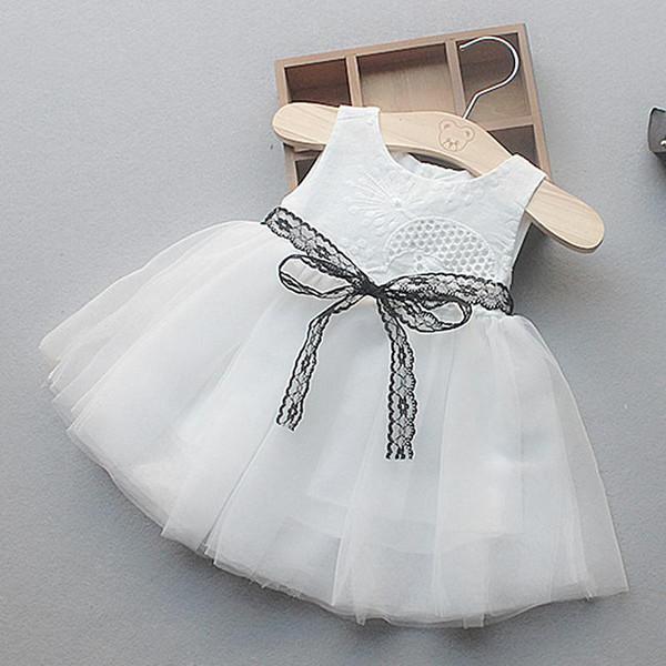 Abito estivo per bambina vestito da bambina neonato Abiti da battesimo in pizzo per ragazze 1 ° 2 ° 3 ° compleanno Festa Matrimonio Bambino Abbigliamento casual