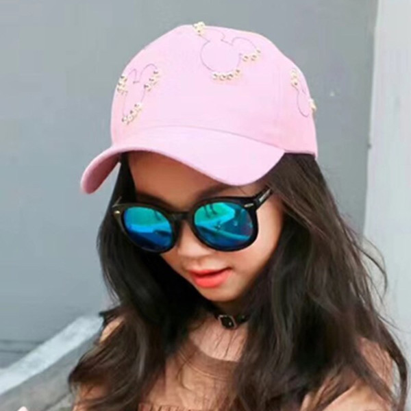Air permeable duck tongue cap tidal Summer Boys and girls baseball cap outdoor leisure personality sunscreen spot supply
