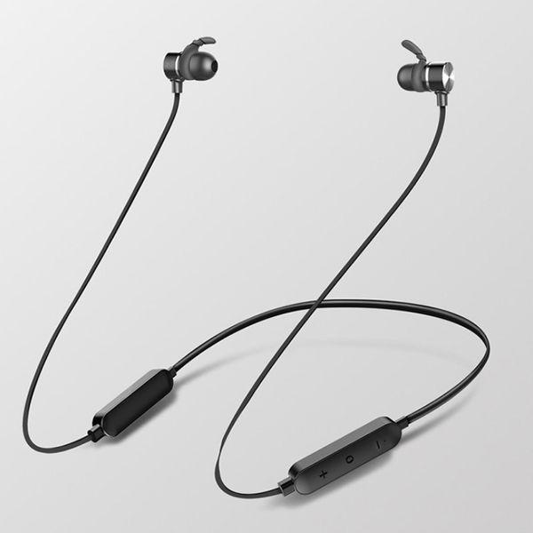 2019 original H8 Kopfhörer Bluetooth Kopfhörer drahtloser magnetischer Neckband Earbuds freihändig mit MIC für den Sport