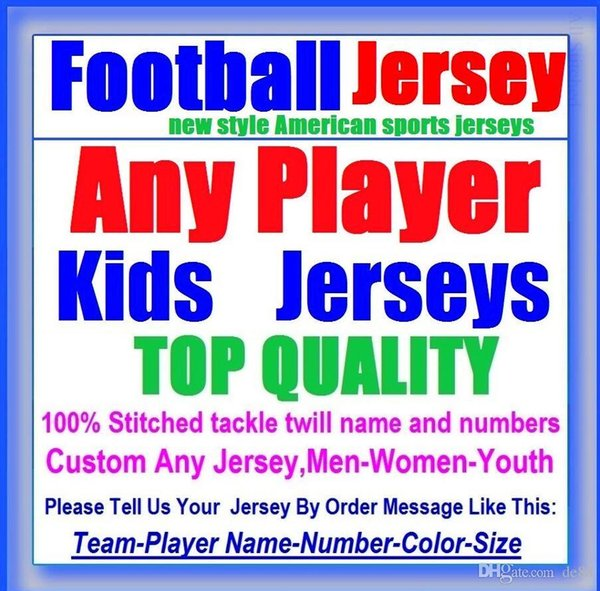 All Stitched Custom american football jerseys Baltimore Denver college authentic cheap baseball basketball mens womens youth USA 4xl france