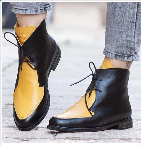Sarı Kadınlar Boots