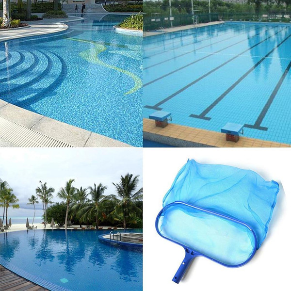 2019 Shallow Water Leaf Skimming Net Pool Cleaning Skimmer Filter Blue Net  PP From Marchnice, $34.6 | DHgate.Com