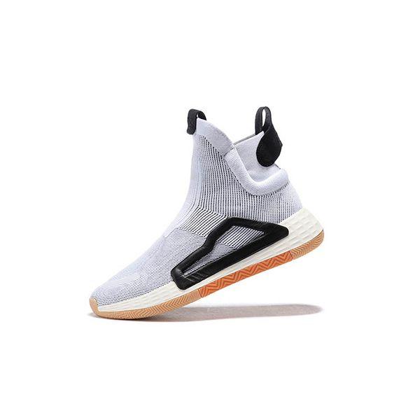N3XT L3V3L True Wild Semelle intercalaire gomme 5 semelles Pro Vision pour hommes Bottes de basket-ball baskets de sport City Sock chaussures haut chaussures en tricot-56wq1d1qwd65s