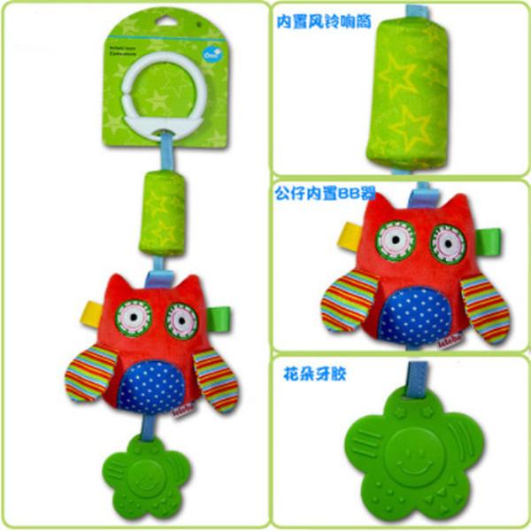 Bebê Primeiros Brinquedos Educativos Novo Infantil Brinquedo Do Bebê de Pelúcia Cama Sinos de Chocalhos de Brinquedo Móvel Sino Carrinho de Brinquedo para Recém-nascidos Crianças Brinquedo Aprendizagem