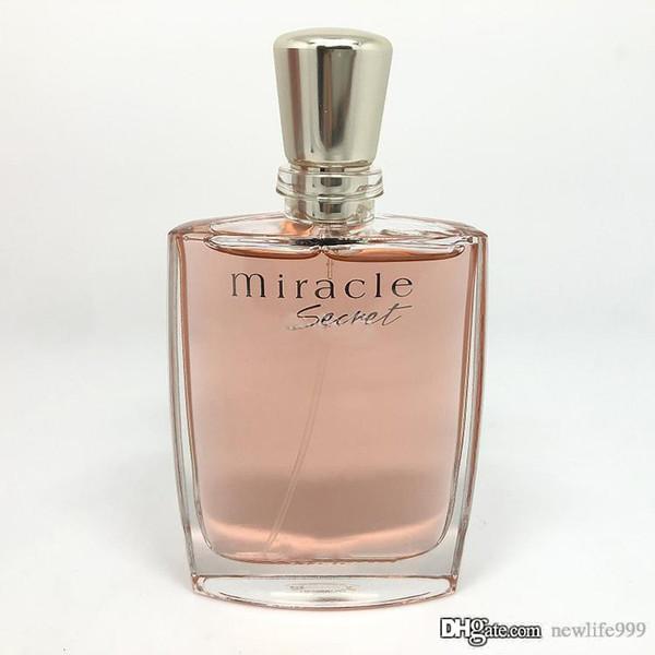Senhoras clássicas perfume milagre secreto EDP100ML3.4 oz. entrega rápida de correio grátis de alta qualidade natural e fresco