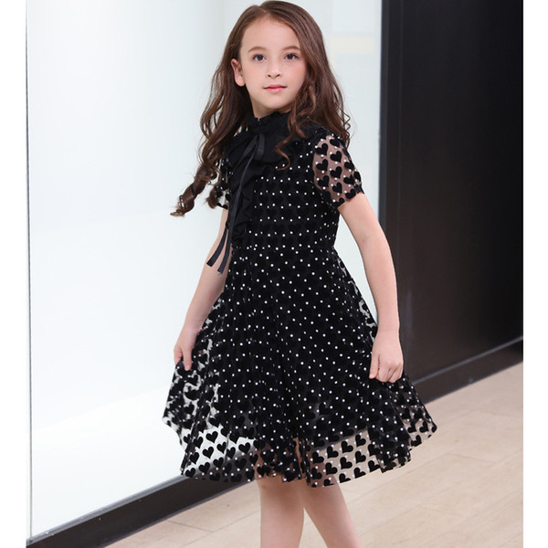 Princess Girls Dress Sequined Party Dress for 10 12 14 years Kids Teenage Girl ClothingMX190912