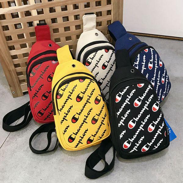 Champions unisexe Designer Menn Sac poitrine taille Sacs femmes de Crossbody sac banane Ceinture sangle sac à main épaule Sacs de sport Sac de voyage # 5014