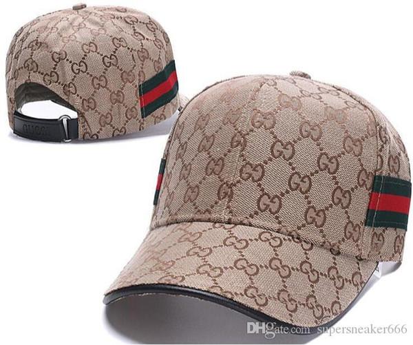 Luxus Papa Designer Hüte Baseball G G Kappe Für Männer Und Frauen Berühmte Marken Baumwolle Einstellbare Schädel Sport Golf Gebogene Hut Sport Caps 02