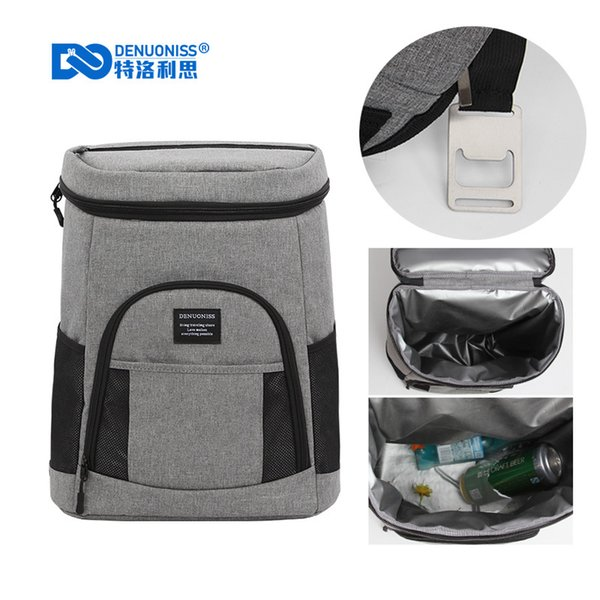 Waterproof Insulated Soft Cooler Backpack Lightweight Soft Picnic Backpack Lunch Tote bag for Hiking, Beach, Camping ,Day Trips