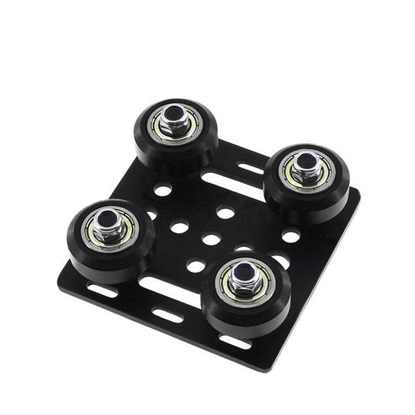 싼 3D 프린터 부품 액세서리 3D 프린터 부품 2020 OpenBuilds V- 슬롯 갠트리 플레이트 세트 알루미늄 프로파일에 대 한 20mm 특수 슬라이드 플레이트