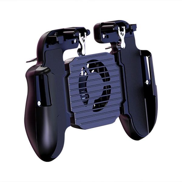 Геймпад Pubg контроллер триггер кулер вентилятор охлаждения огонь PUBG мобильный игровой контроллер джойстик металл L1 R1 триггер игры аксессуар