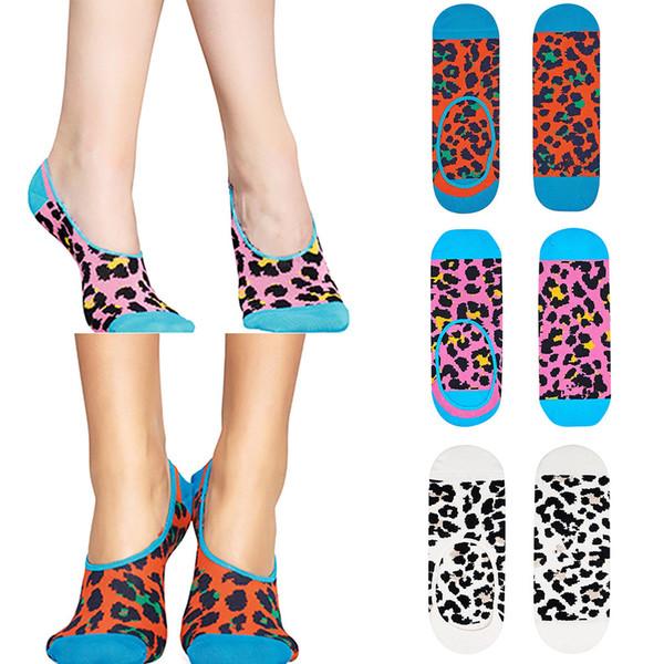 MUQGEW 2019 новые носки короткие носки для девочек Весна Женщины Женская Мода Ins Style Bobbysocks Леопардовым принтом Ножные браслеты Носки # y4