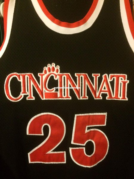 Cheap wholesale Cincinnati Bear Cats #25 Danny Fortson Jersey nk T-shirt vest Stitched Basketball jerseys Ncaa