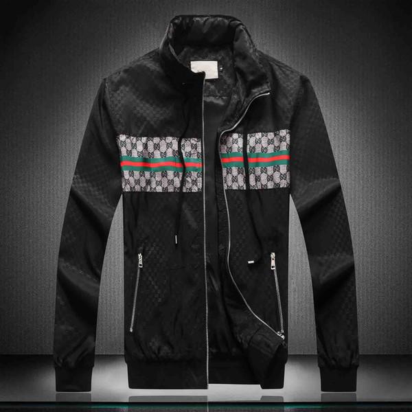 # 66 10 DHL Free 2019 горячей моды мужской открытый случайные куртки высокого качества застежка-молния мужская куртка Medusa тенденции моды мужской одежды куртки вскользь