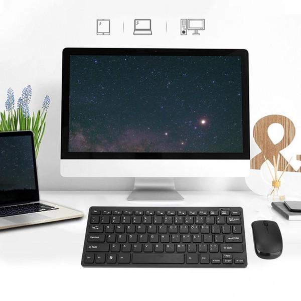 Modernes Design 2,4 G Ultra-Slim Wireless-Tastatur und Maus Combo New Computer-Zubehör für Apple Mac PC Windows XP Android TV-Box
