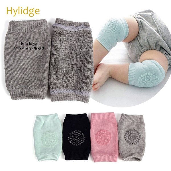 Hylidge Soft Cotton Toddler Baby Knee Pads Safety Crawling for Children Kids Protection Girl Boys Knee