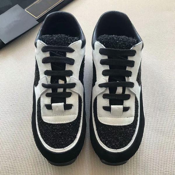 e9f34699ccd 2018 Novo Estilo de Qualidade Superior Modelo Rainha Sapatos Venda Quente  Marca Homens E Mulheres de