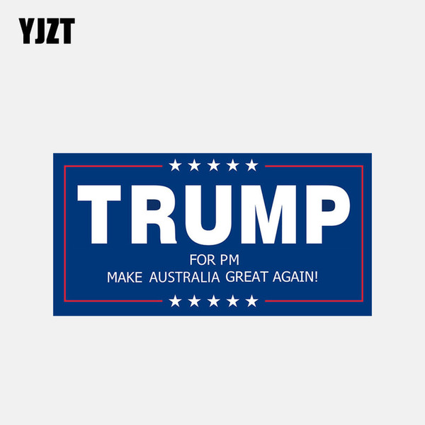 YJZT 14.9CM * 7.5 CM TRUMP PER PM FA PARTE AUSTRALIA GRANDE ANCORA Motorcycle Body Car Sticker 6-2951