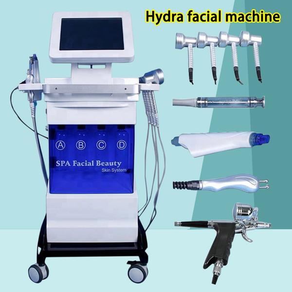 Эффективная лицевая гидра микродермабразия Уход за кожей Hydra кислородный спрей гидро вода микродермабразия уход за кожей машина омоложения