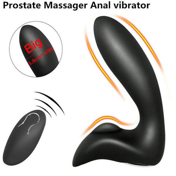 Massager prostate Anal Sex Vibrator Télécommande sans fil pour les hommes adultes Toy A098